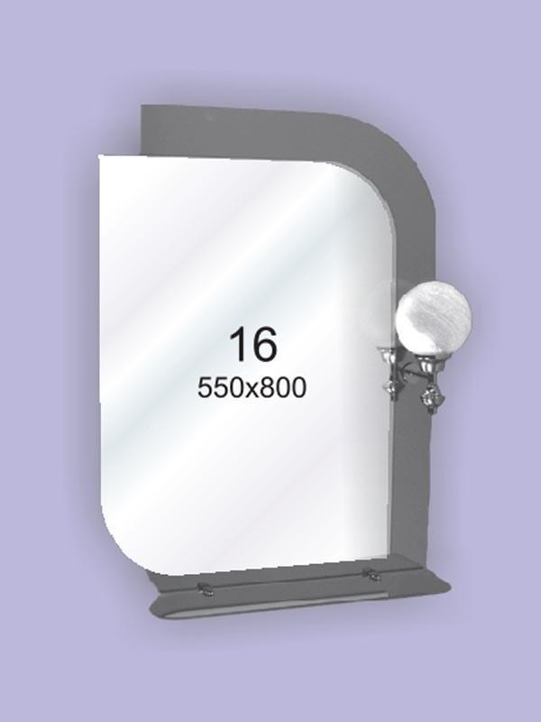 Зеркало для ванной комнаты ( настенное зеркало) 550х800мм Ф16