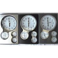 Часы настенные с барометром,температурой и влажностью