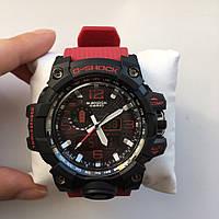 Красные спортивные часы