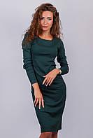 Платье женское миди, повседневное  №AG-0002946 Зеленый
