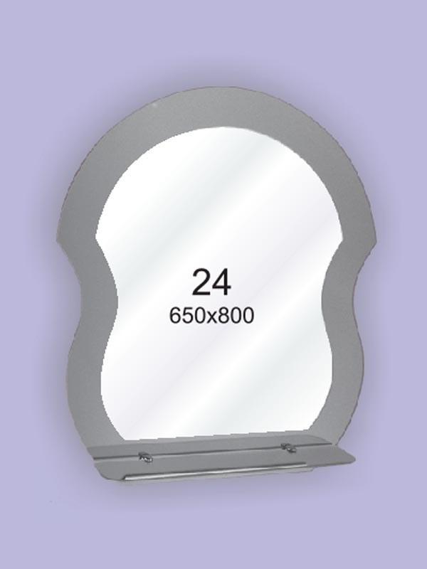 Зеркало для ванной комнаты ( настенное зеркало) 650х800мм Ф24