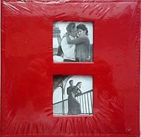 Альбом.Фотоальбом Studio 100ф. 15x21см. красный