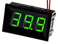 Цифровой вольтметр DC постоянного тока 5-120V панельный зеленый