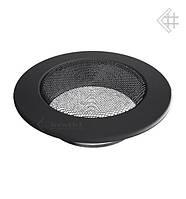 Вентиляционная решетка KRATKI круглая Ø125 графитовая