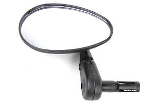 """Зеркало X17 овальное 3"""" с крепленем в трубу руля"""