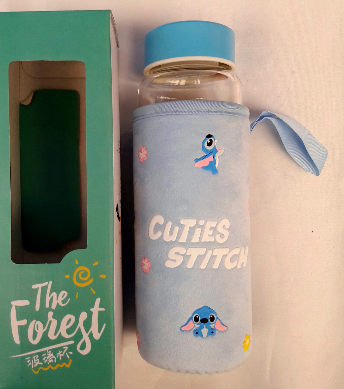 Бутылка с чехлом Cuties Stitch 0,5