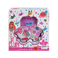 Набор для девочек Детская косметика241-2B -2 яруса, тени, лак, помада, в коробке