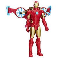 Игровой набор Железный человек с «крыльями». Marvel Titan Hero Series Iron Man With Hover Pack