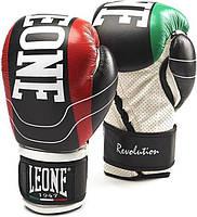 Боксерские перчатки Leone Revolution Black 10 ун