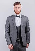 Пиджак мужской серый, классический  AG-0003047 Серый