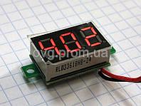 Цифровой DC вольтметр 3 - 30 В