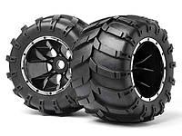 HPI Maverick Комплект колёс (шина+диск) 1:5, для Blackout MT (2шт)