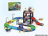 Детская парковка Р4588, гараж