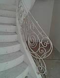 Ковані сходи, огородження сходів, фото 6