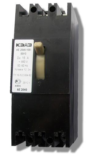 Автоматический выключатель АЕ-2046-100 20А