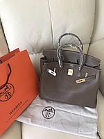 Роскошная женская сумка Гермес Биркин 35 см