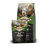 Carnilove (Карнилав) DUCK & PHEASANT Adult Dogs - беззерновой корм для собак всех пород (утка/фазан), 1.5кг
