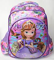 Дошкольный рюкзак для девочек объёмный София сиреневый