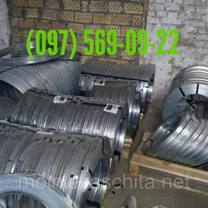 Полоса стальная оцинкованная 25х4