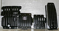Защита радиатора и картера двигателя, кпп, ркпп, бака Mitsubishi Pajero Sport 2010- с установкой! Киев