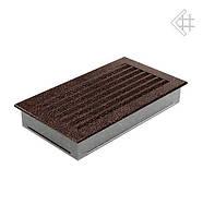 Вентиляционная решетка KRATKI FRESH 17Х30 СМ медная (крашенная)
