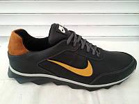 Мужские спортивные кроссовки Nike черно-желтые