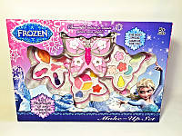 Набор для девочек Детская косметика Frozen (V92988C -3-х ярусная, тени, помада, кисточки, блестки, в коробке