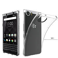 Ультратонкий 0,3 мм чехол для BlackBerry Keyone прозрачный