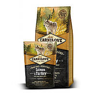 Carnilove (Карнилав) SALMON & TURKEY Large Breed - корм для собак крупных пород (лосось/индейка), 12кг