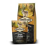 Carnilove SALMON & TURKEY Large Breed 1.5 кг - корм для собак крупных пород (лосось/индейка)