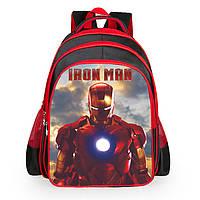Рюкзаки для мальчиков с принтом Iron Man