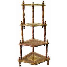 Этажерка деревянная оригинальная