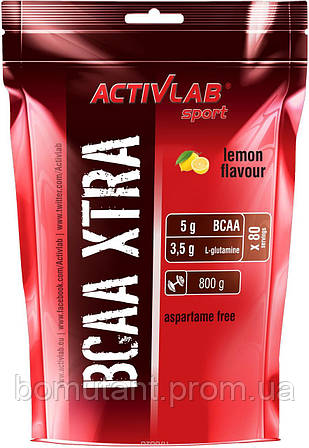 BCAA Xtra 800 гр лимон Activlab