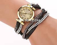 Женские стильные винтажные часы Relogio цветы