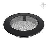 Вентиляционная решетка KRATKI круглая Ø150 графитовая