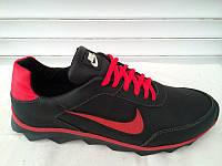 Мужские спортивные кроссовки Nike черно-красные