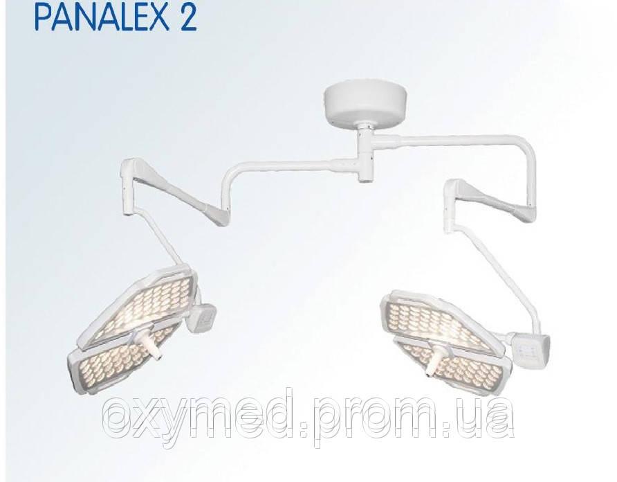 Лампа операционная подвесная PANALEX 2 (двухкупольная, пульт ДУ), Светильник операционный, хирургический  - ОКСИМЕД-стимул к здоровому образу жизни в Киеве