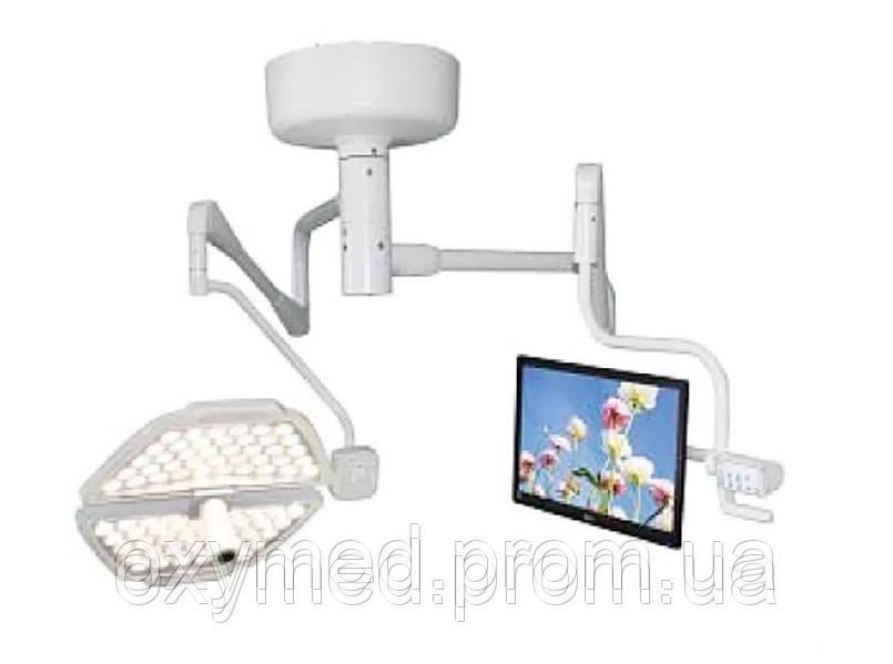 Лампа операционная подвесная PANALEX 3 (однокупольная, двойная центральная ось, цифровая HD камера, монитор 21 - ОКСИМЕД-стимул к здоровому образу жизни в Киеве
