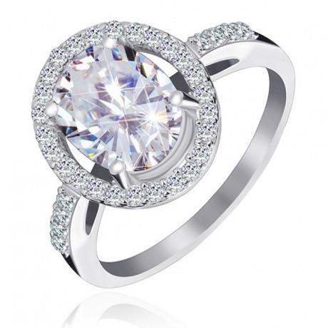 """Серебряное кольцо с камнями """"390"""""""