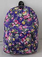 Рюкзак городской Flowerbed rose фиолетовый