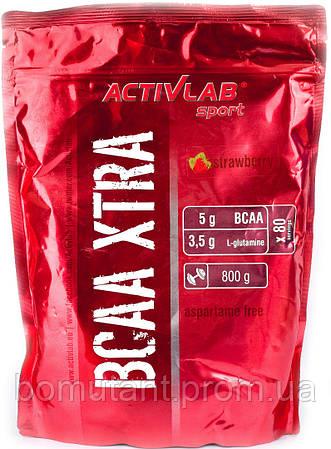 BCAA Xtra 800 гр клубника Activlab