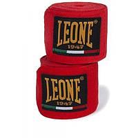 Бинты боксерские Leone Red 3,5м