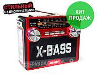 Радиоприемник ATLANFA радио от сети FM SW AM аккумуляторный R781