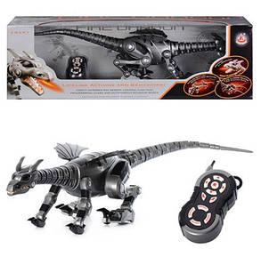 Радиоуправляемая игрушка Dragon 28109 Дракон, звук, свет, ходит, приседает, двигает головой, фото 2