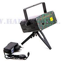 Mini Laser Lighting XL-06 – компактный лазерный проектор для дискотек