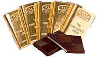 Шоколадные конфеты  15 грамм золота фабрика Атаг   Шексна