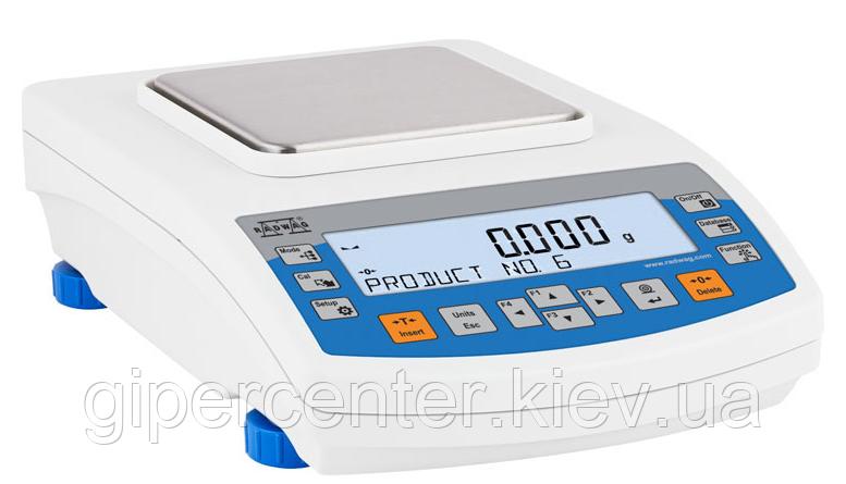Весы лабораторные PS 200/2000.R2 до 200/2000 г, дискретность 0,001/0.01 г, фото 2