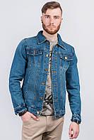 Куртка синяя джинсовая AG-0003505 Синий