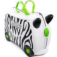 Trunki Детский дорожный чемоданчик Zebra 0264