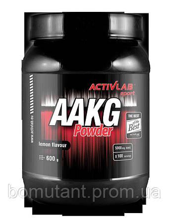 AAKG Powder 600 гр апельсин Activlab